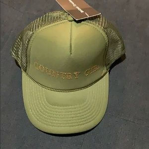 """Accessories - NWT """"country girl"""" hat"""